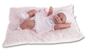 Bébé reborn antonio juan qui s'appelle Nica.