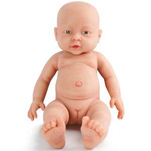 Bébé reborn fille ultra-réaliste de la marque Vollence