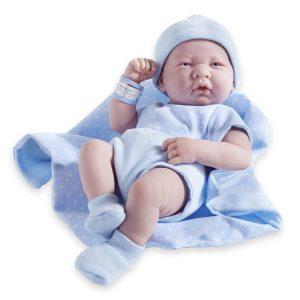 Bébé reborn de sexe masculin vendu par JCTOYS.
