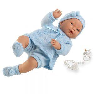 Ce poupon reborn est un petit garçon qui s'appelle LEO.