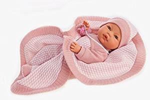 Ce bébé reborn Antonio Juan s'appelle Bimba.