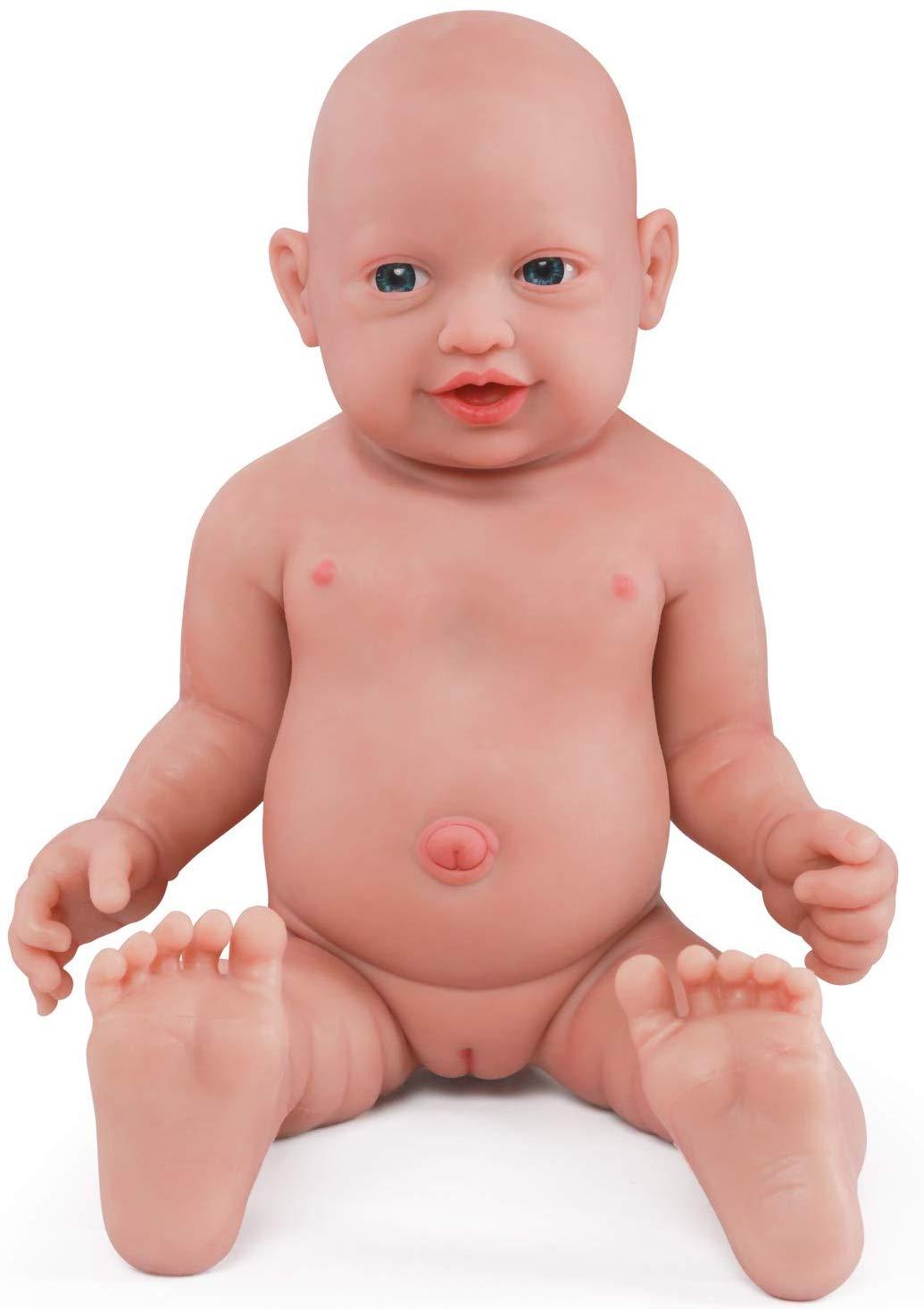 Le poupon réaliste Vollence fille ressemble à un vrai bébé.