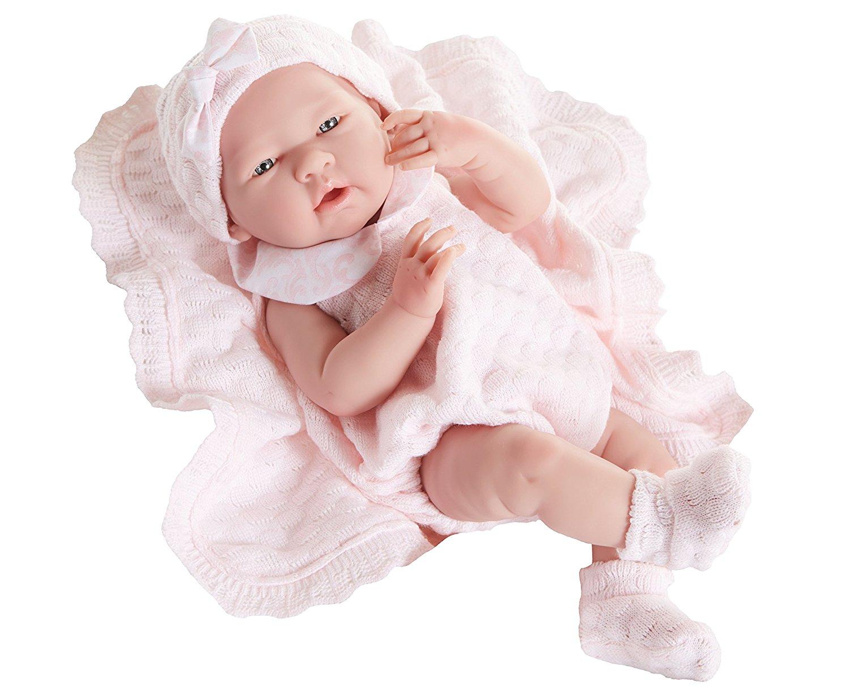 Beau poupon reborn fille créé par Berenguer