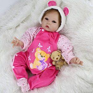 Bébé reborn fille vendue par nicery poupée sur amazon.