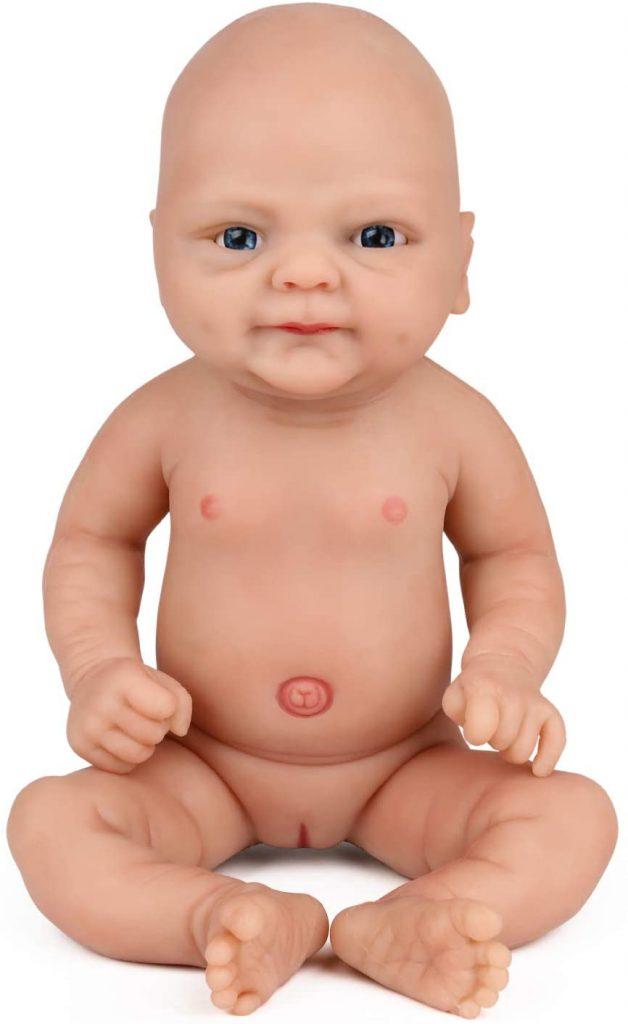 Ce bébé reborn Vollence est une petite fille qui mesure 36 cm.