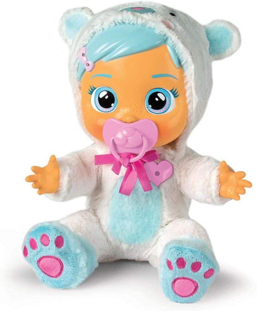 Cry Babies Kristal est une adorable poupée interactive.