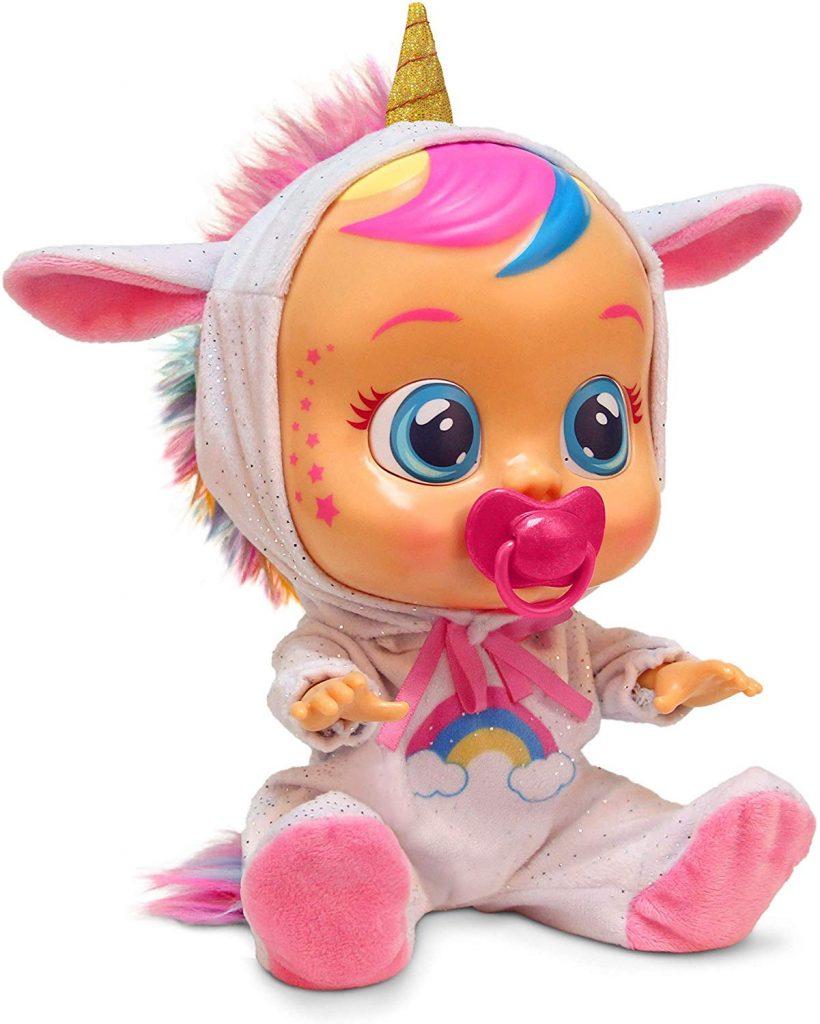 Cry babies licorne a un joli pyjama unicorn.