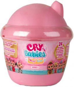 Les cry babies magic tears sont des mini-poupées.