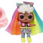 Les poupées lol surprise hair goals ont de sublimes cheveux;