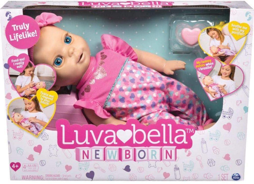 Luvabella est une poupée interactive.