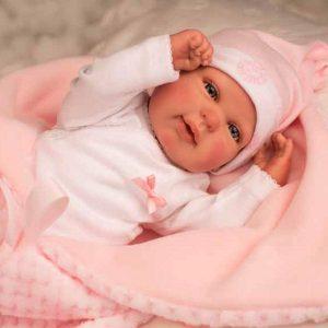 Le reborn Rocio est une poupée de la marque Arias.