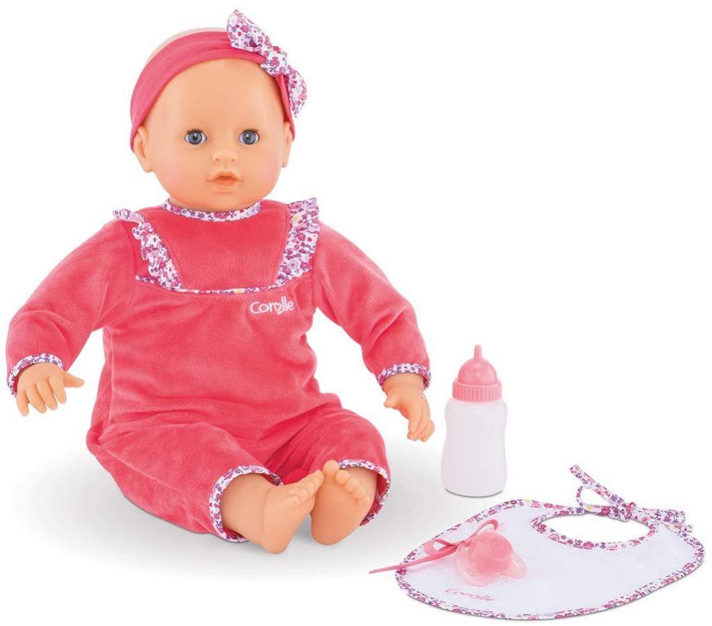 Le bébé Corolle Lila Chérie est un poupon interactif.