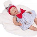 Le bébé en silicone Inès de Guca ressemble à un vrai nouveau-né.