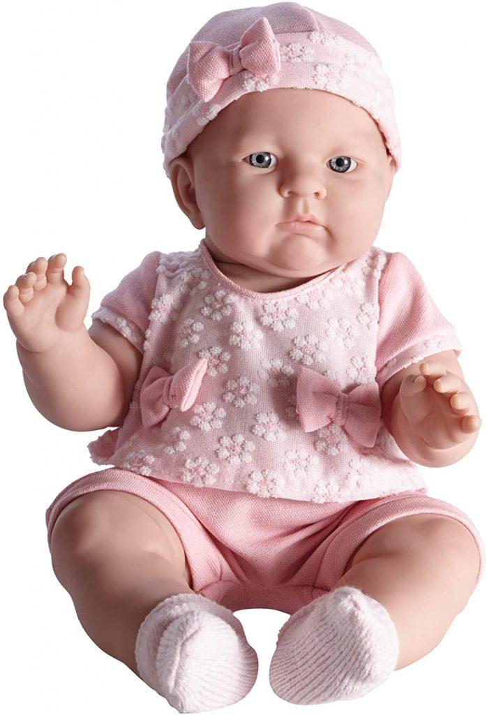 La poupée réaliste Lily in Pretty mesure 45,7 centimètres.