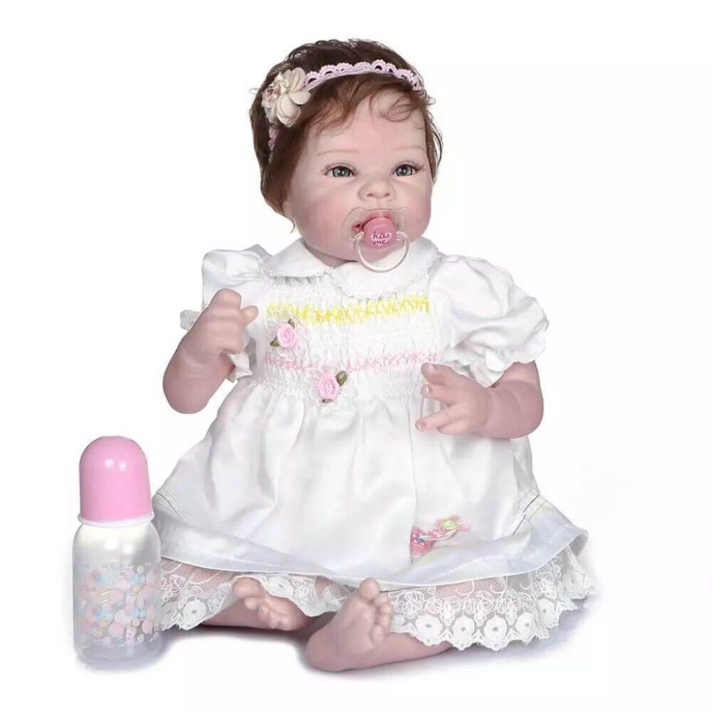 La poupée reborn Amanda a un sublime regard.
