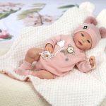 Ce bébé reborn fille s'appelle Sofia.