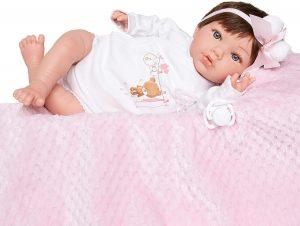 Bébé reborn fille Manuela Marìa Jesús