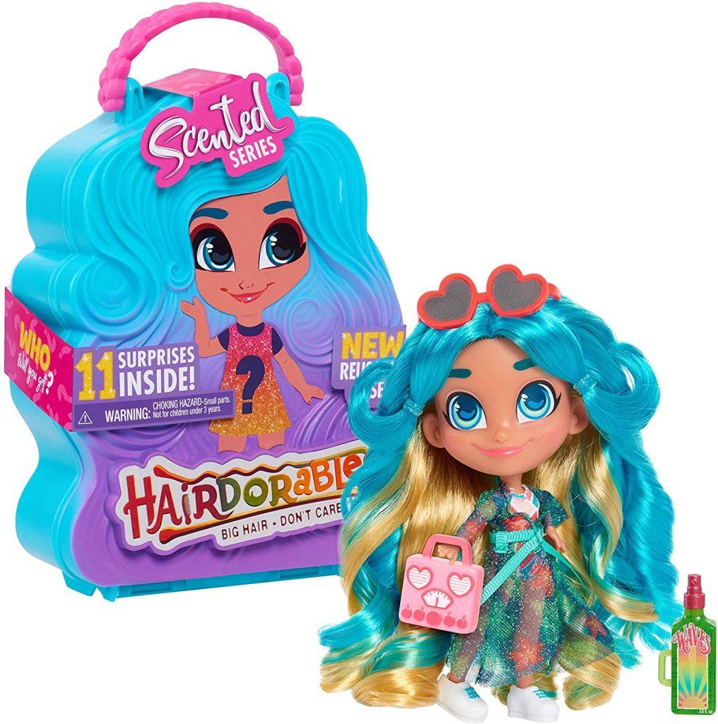 Les poupées Hairdorables de la série 5 sont livrés dans un coffret avec poignée.