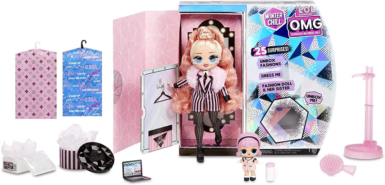 Big Wig est l'une des quatre poupées Lol OMG de la série Winter Chill.