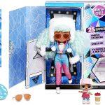 Icy Gurl est une Lol Omg Winter Chill au cheveux bleus menthol.