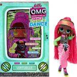 Virtuelle est l'une des quatre poupées Lol Surprise OMG Dance Dance Dance.
