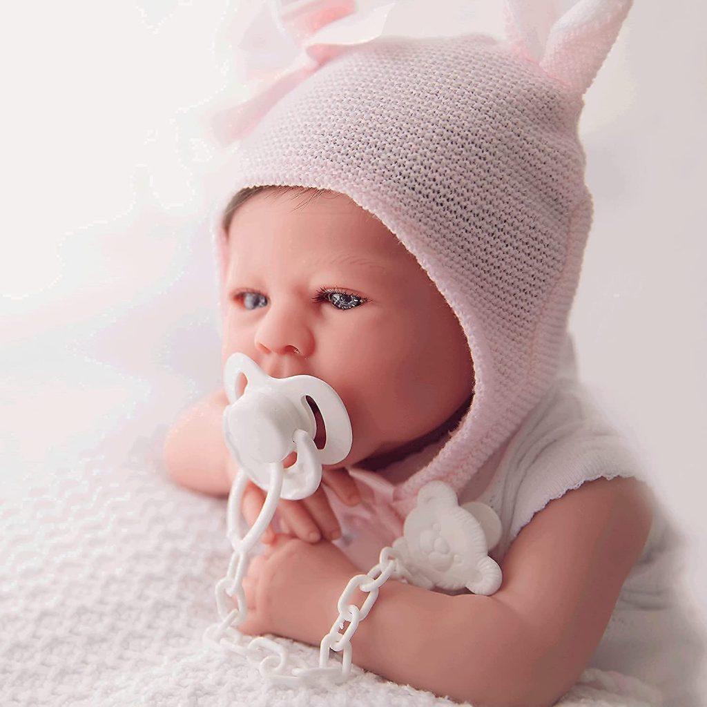 Maria Jesus est à l'origine de ce bébé reborn.