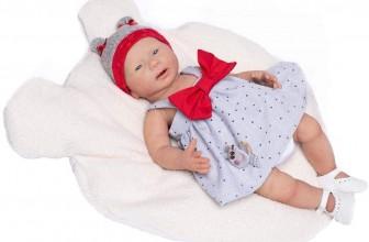 Bébé reborn en silicone Inés Guca