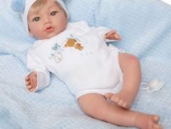 Bébé reborn fille cheveux blonds Marìa Jesús