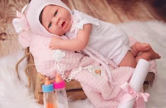 Bébé reborn fille Elisabeth Marìa Jesús